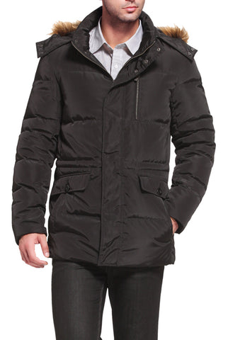 "BGSD Men's ""Shane"" Water Resistant Down Parka Coat"