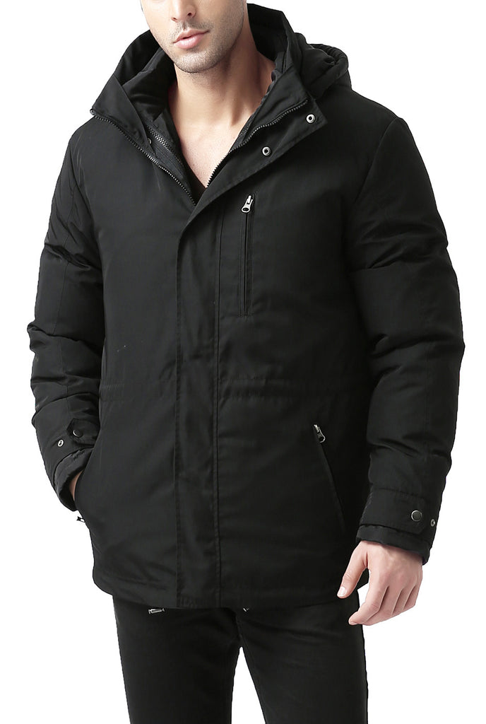 "BGSD Men's ""James"" 3-in-1 Waterproof Down Parka Coat"