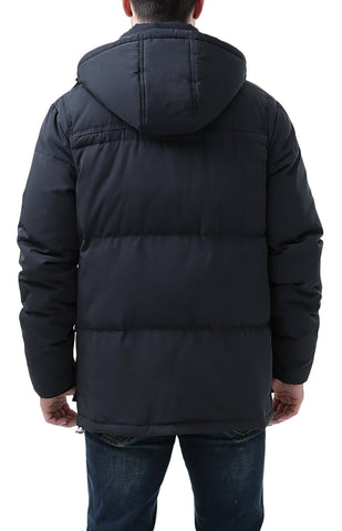 "BGSD Men's ""Connor"" Hooded Waterproof Toggle Down Parka Coat"