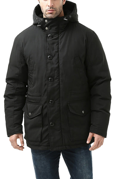 "BGSD Men's ""Tommy"" Hooded Waterproof Down Parka Coat"