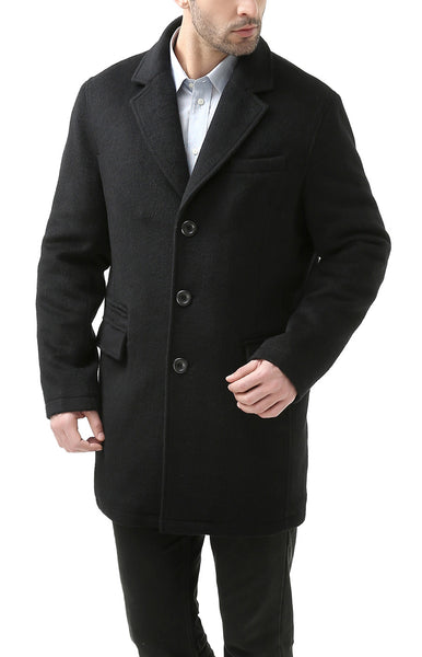 BGSD Men's 'Miles' Cashmere Blend Walking Coat
