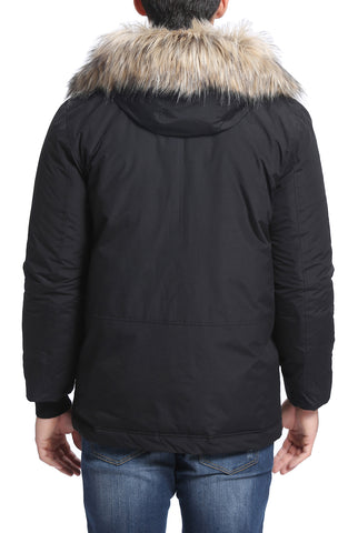 "BGSD Men's ""Orion"" Water Resistant Puffer Parka Coat"