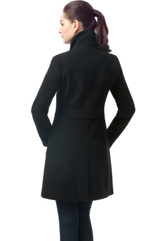 BGSD Women's 'Elizabeth' Wool Blend Walking Coat - Plus
