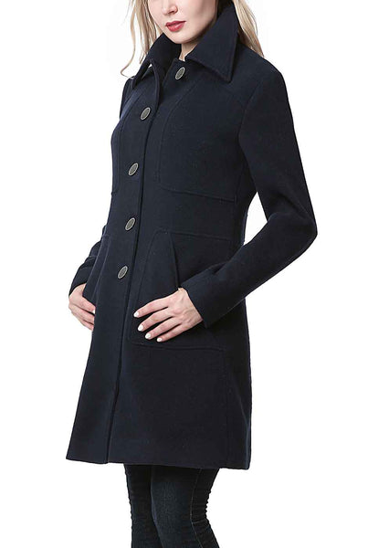 "BGSD Women's ""Anna"" Wool Blend Walking Coat"