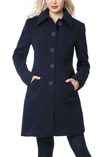 BGSD Women's Anna Wool Blend Walking Coat