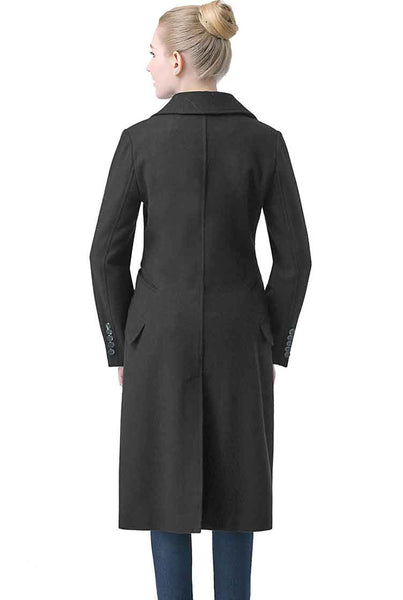 "BGSD Women's ""Romina"" Wool Blend Long Walking Coat"