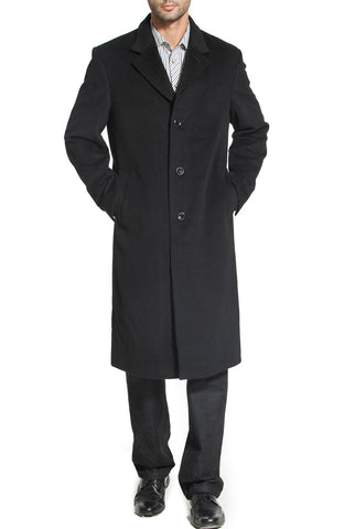"BGSD Men's ""Henry"" Cashmere Blend Long Walking Coat"