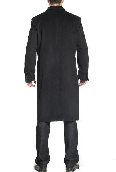 BGSD Men's 'Henry' Cashmere Blend Long Walking Coat