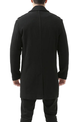 BGSD Men's 'Wesley' Melton Wool Blend Walking Coat