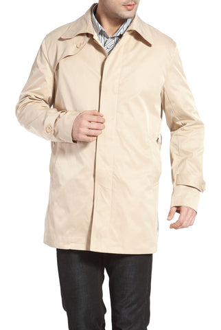 BGSD Men's 'Charles' Single Breasted Trench Coat