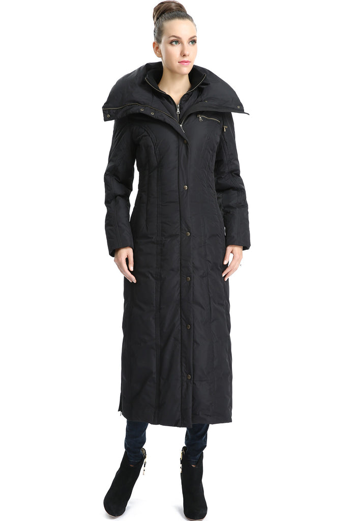 70a54f5030d67 ... phistic womens lacey long hooded puffer down coat ...