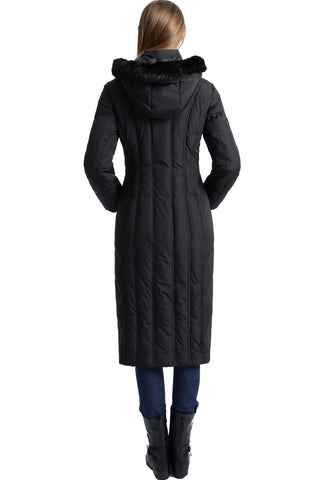 "BGSD Women's ""Tabby"" Waterproof Hooded Maxi Down Coat"