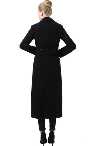 "BGSD Women's ""Jeanette"" Long Wool Blend Maxi Walking Coat (Regular Plus & Short)"