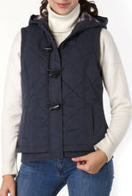 Load image into Gallery viewer, BGSD Women's Quilted Hooded Vest