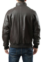 Load image into Gallery viewer, Landing Leathers Men's WWII New Zealand Lambskin Leather Bomber Jacket - Tall