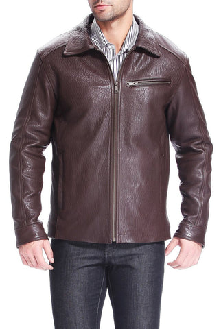 "BGSD Men's ""Jeremy"" New Zealand Lambskin Leather Jacket"