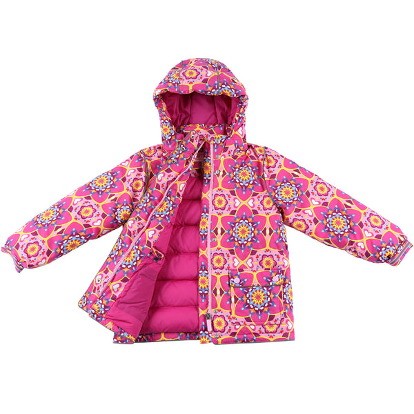 "Momo Grow Big Girl's ""Cali"" Down Snow Jacket"