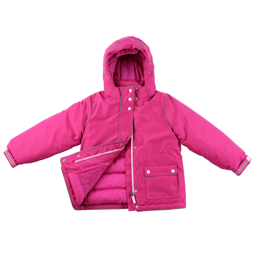 "Momo Grow Little Girl's ""Harper"" Down Snow Jacket"