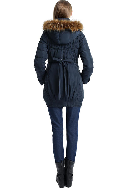 "Kimi + Kai Maternity ""Arlo"" Convertible Baby Wearing Down Coat"