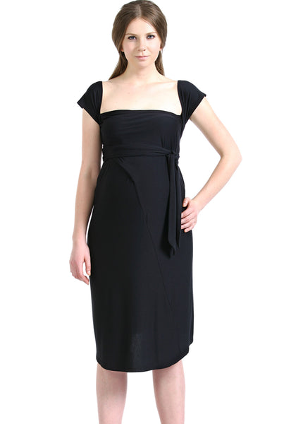 kimi kai maternity avery infinity wrap dress