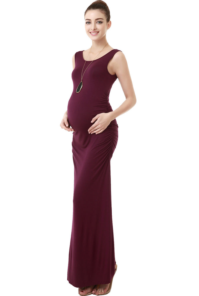 kimi kai maternity charlotte tank column dress 1