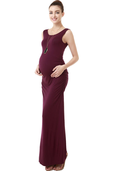 "Kimi + Kai Maternity ""Charlotte"" Tank Column Dress"