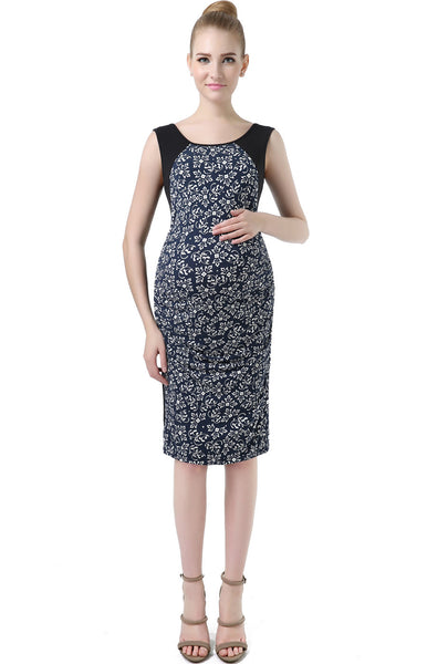 "Kimi + Kai Maternity ""Antonia"" Printed Dress"