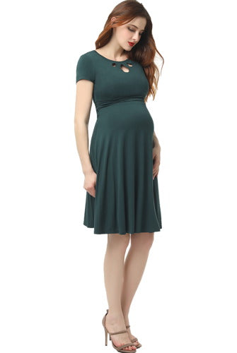 "Kimi + Kai Maternity ""Karly"" Skater Dress"