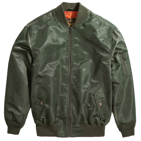 Landing Leathers Men's Air Force MA-1 Bomber Jacket