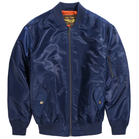 Landing Leathers Men's Air Force MA1 Bomber Jacket