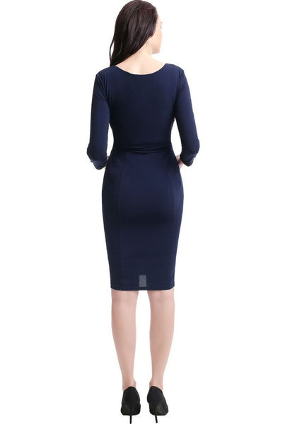 "Kimi + Kai Maternity ""Penelope"" Waist Detail Dress"