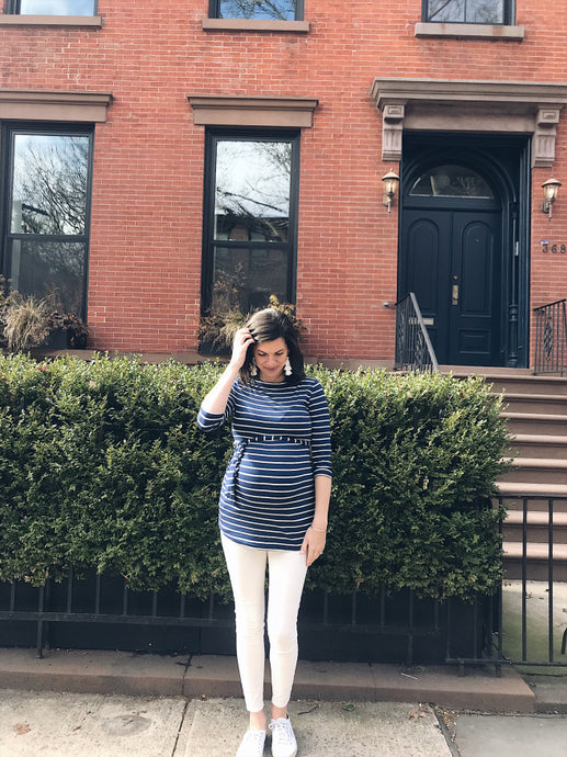 Simply Lauren - Navy Stripes