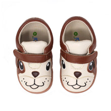 Load image into Gallery viewer, Kimi + Kai Unisex Sneaker Shoes (First Walker & Toddler) - Playful Puppy Beige