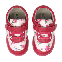 "Load image into Gallery viewer, Kimi + Kai Girl's ""Chloe"" Floral Sneaker Shoes (First Walker & Toddler)"