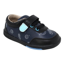 Load image into Gallery viewer, Kimi + Kai Boys Sneaker Shoes - Colton Spaceship (First Walker & Toddler)