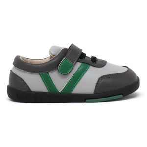 Kimi + Kai Boys Sneaker Shoes - Sam Stripe (First Walker & Toddler)