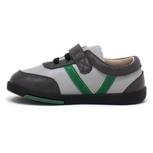 Load image into Gallery viewer, Kimi + Kai Boys Sneaker Shoes - Sam Stripe (First Walker & Toddler)