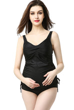 Load image into Gallery viewer, Kimi + Kai Maternity Swim Tankini & Bottom 2-Piece Bathing Suit Set