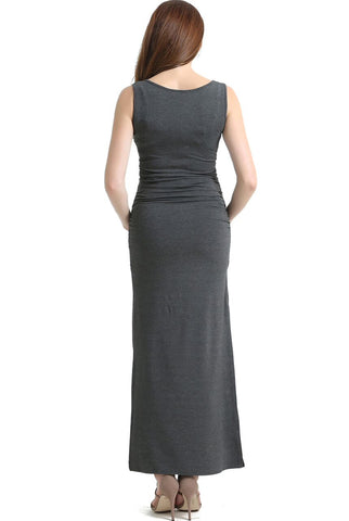 "Kimi + Kai Maternity ""Bethany"" Lace Trim Maxi Dress"