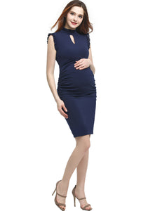 "Kimi + Kai Maternity ""Madeline"" Body-Con Dress"