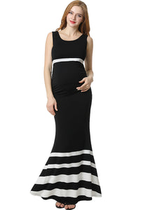 "Kimi + Kai Maternity ""Cortana"" Mermaid Maxi Dress"