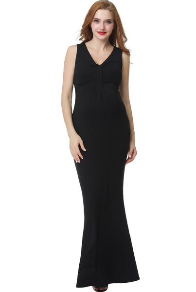 "Kimi + Kai Maternity ""Edrei"" Mermaid Maxi Dress"