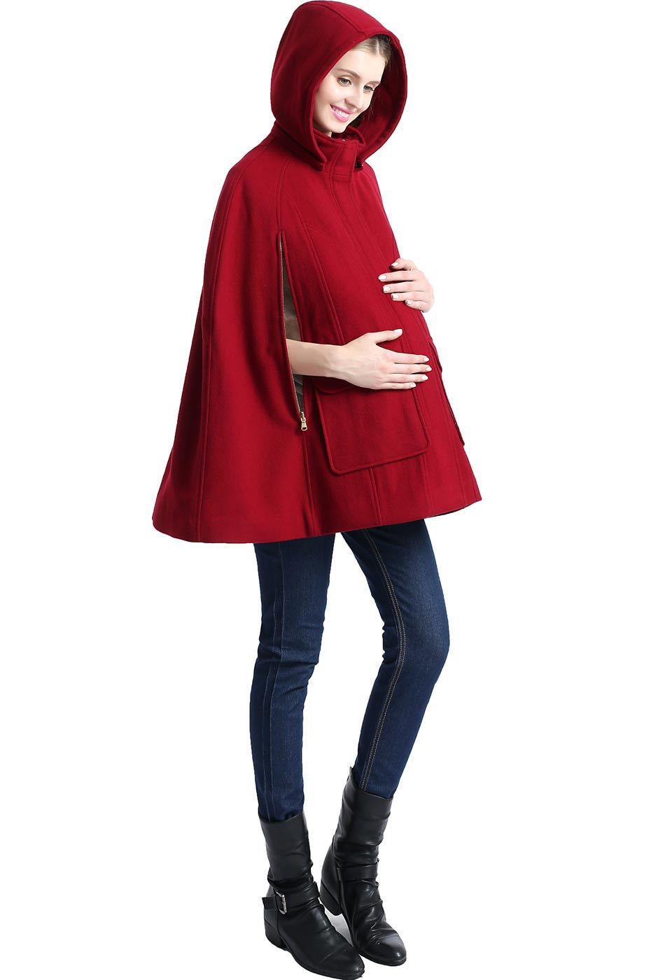 """8ad0a676949bd ... Wool Blend; Load image into Gallery viewer, Kimi + Kai Maternity  """"Robin"""" ..."""