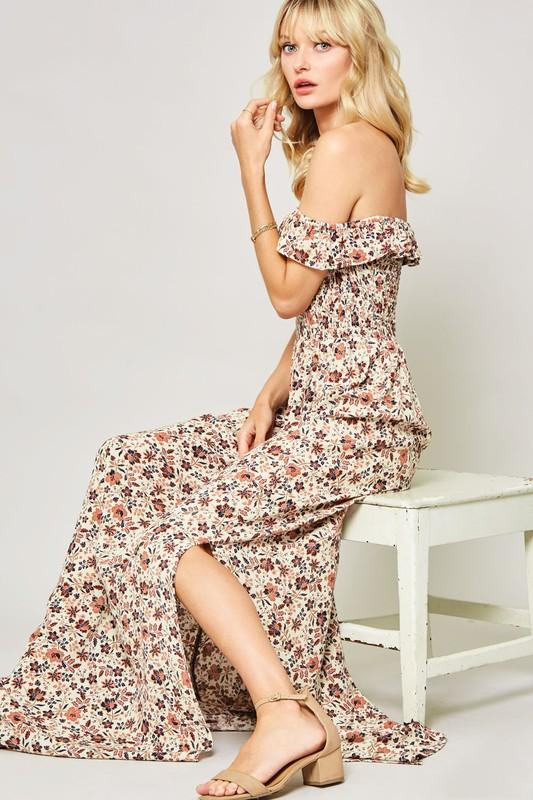 Meritt Off Shoulder Maxi Dress