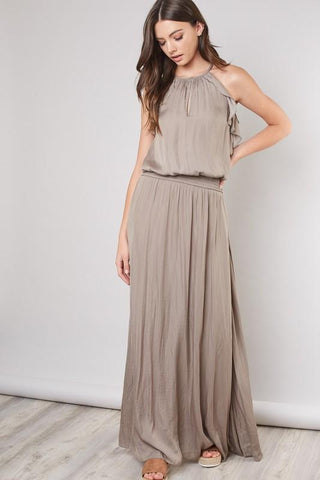 Katherine Smocked Waist Maxi Dress