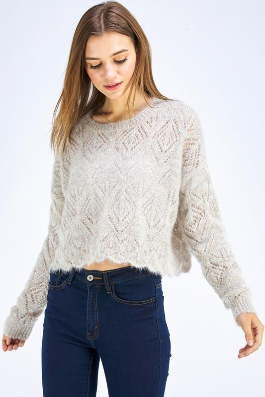 Emily Fuzzy Sweater