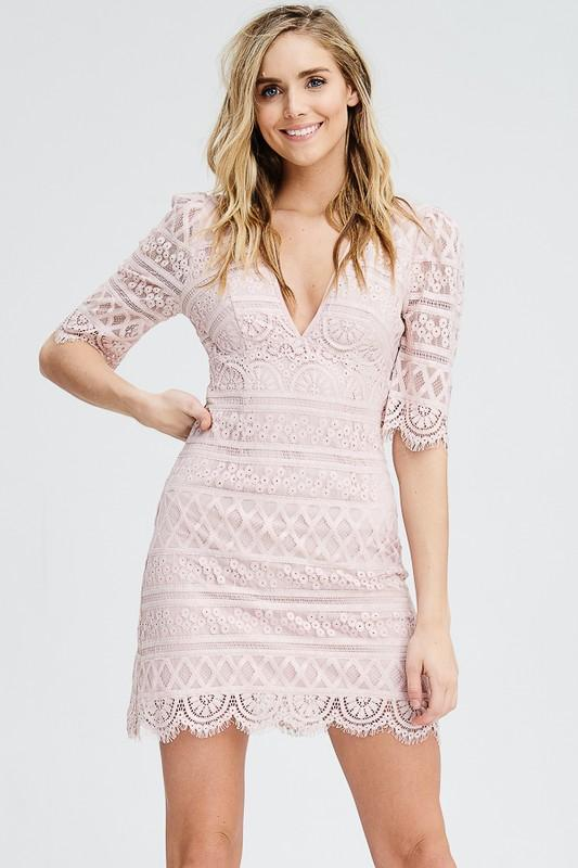 Melanie Lace Dress