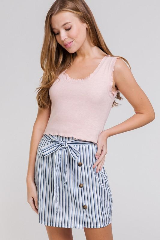 Candy Knit Crop Top