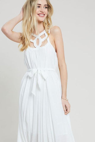 Izi Maxi Dress - White