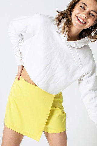 Laney Wrap skort - Yellow